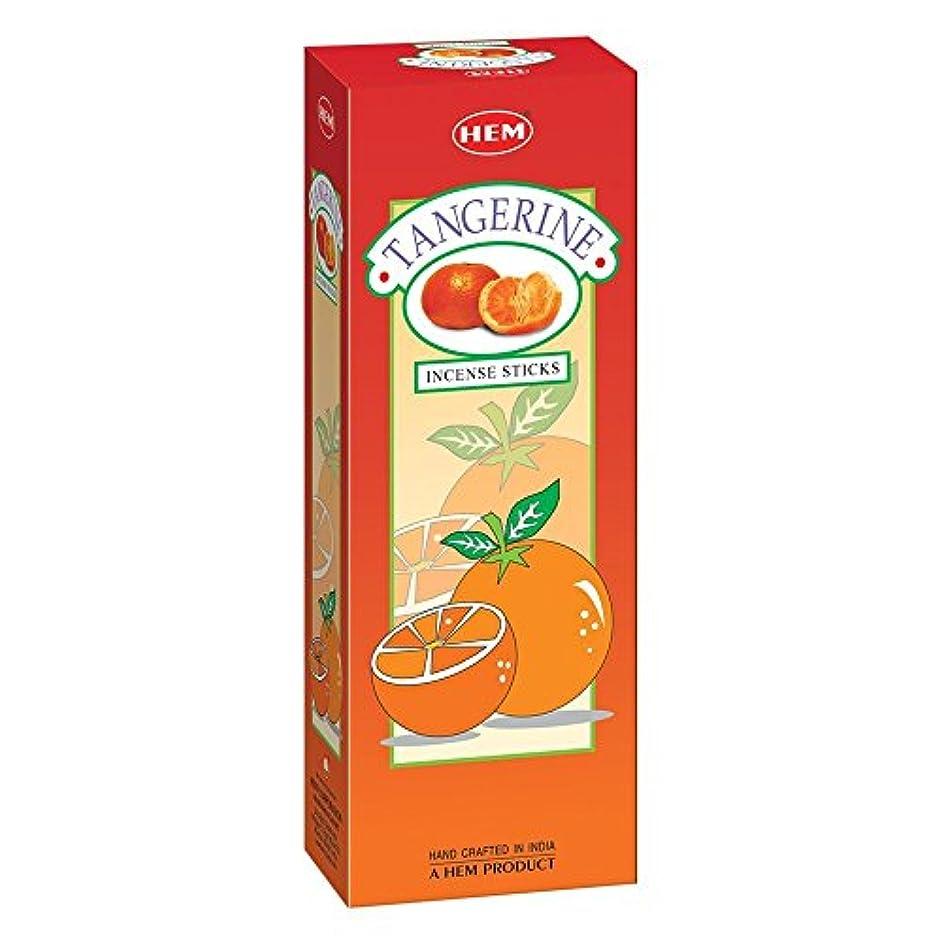 ゴシップ可塑性浪費Tangerine – ボックスof 6つ20スティックチューブ – 裾Incense