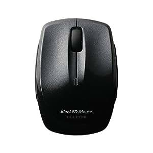エレコム ワイヤレスマウス Bluetooth 静音 クリック音95%軽減 3ボタン コンパクト ブラック M-FBL3BBSBK