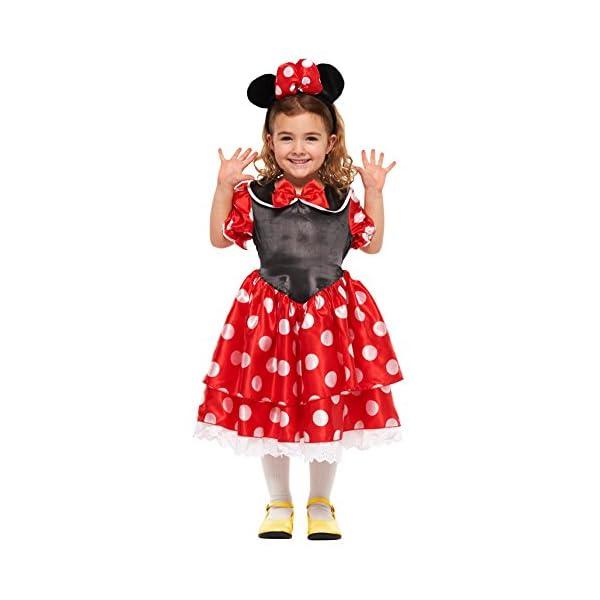 ディズニー ミニーマウス キッズコスチューム 女...の商品画像