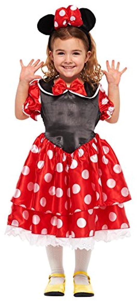 幾何学縫い目不快ディズニー ミニーマウス キッズコスチューム 女の子 100cm-120cm