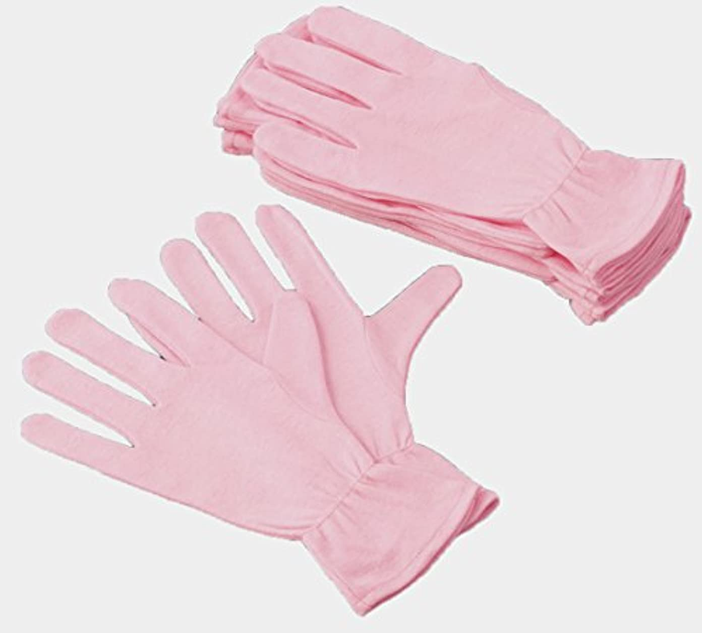 異議適用済み汚染された綿ソフト手袋12枚入
