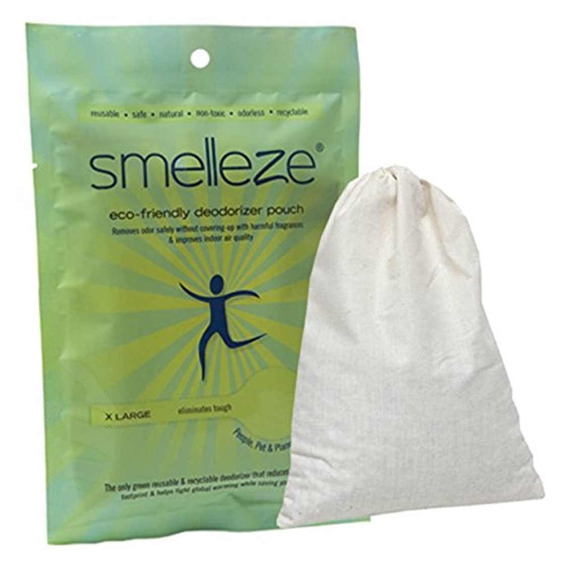実験をするストレンジャー名誉SMELLEZE Reusable Office Odor Removal Deodorizer Pouch: Remove Smell in 200 Sq. Ft. Without Chemicals by SMELLEZE