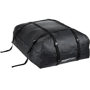 Amazonベーシック ルーフトップカーゴバッグ ブラック 容量425L