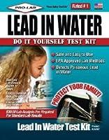 プロ仕様の鉛水テストキットクラムシェル。
