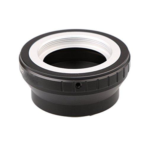 Baoblaze Nikon カメラ V1 V2 S1 J1 J2 J3 AW1 S2 J4 J5 V3 適応用 互換性 M42用 SCREWマウントレンズ 交換性 ブラック