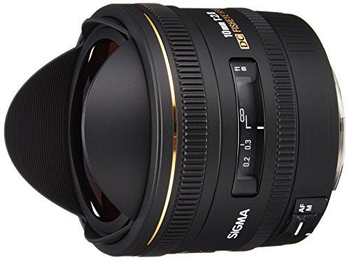SIGMA 単焦点魚眼レンズ 10mm F2.8 EX DC FISHEYE HSM キヤノン用 対角線魚眼 APS-C専用 477547
