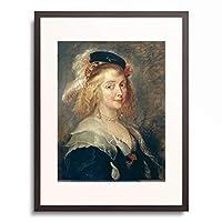 ピーテル・パウル・ルーベンス Peter Paul Rubens 「Portrait of Helene Fourment」 額装アート作品