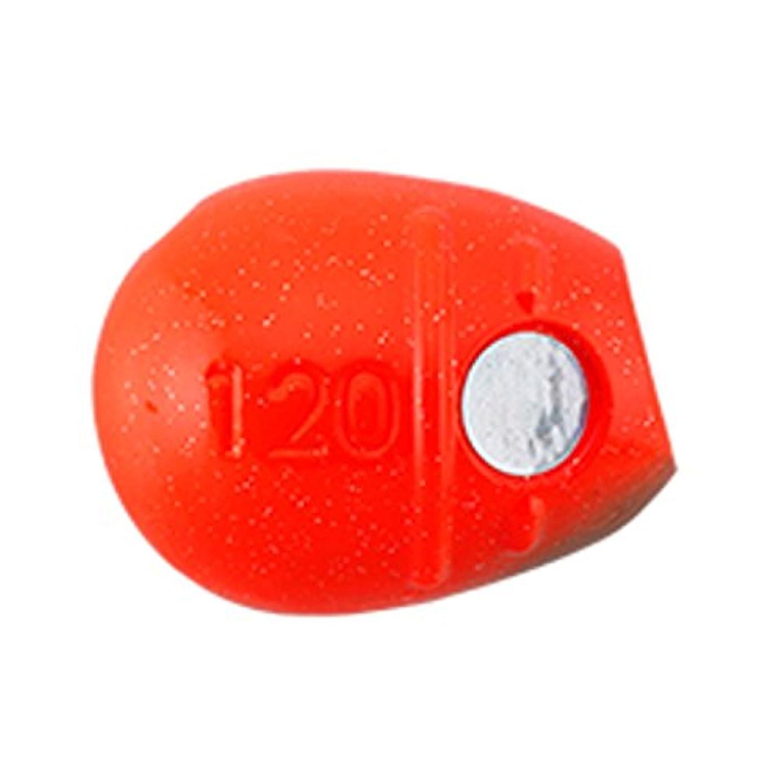 工業用しかしホストヤマシタ(YAMASHITA) タイラバ 鯛歌舞楽 波動玉 直進 120g オレンジ #03