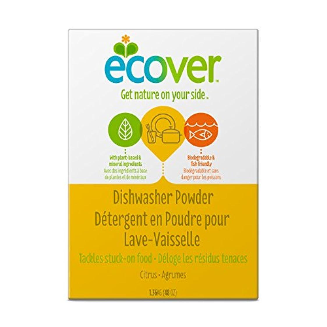 鍔資格胴体海外直送品Automatic Dishwasher Powder, 48 OZ by Ecover