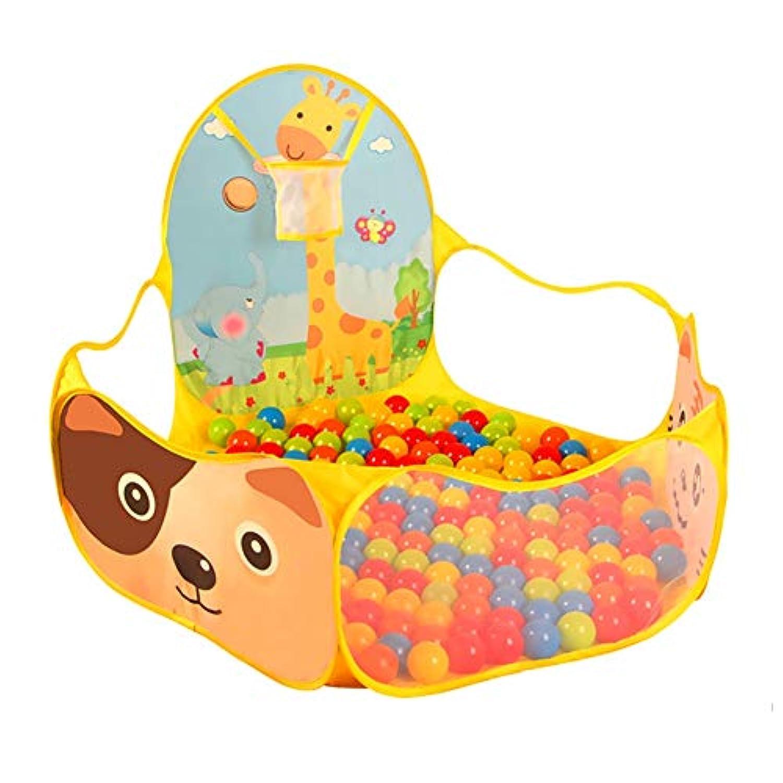 赤ちゃんPlaypen黄色のPlayardポータブル自立型Playpen屋内と屋外の再生は、保育園の再生ヤードで (サイズ さいず : 100 Balls)