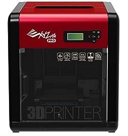 【特徴】新型のエクストルーダーは、正確にエクストルーダー内に圧力を加えることでフィラメントの流量を適切に制御し、より高い印刷品質を実現します。Wi-Fiによるワイヤレス印刷機能のほか、フィラメントのオートフィーディングシステム、最新のプラットフォーム校正システムを搭載しています。オプションのレーザー刻印機能で、皮、紙、木材に文字や画像を彫ることができ、クリエイティビティーを多面的に展開できます。【仕様】サイズ(mm):468×558×510重量(kg):26プリンターヘッド:シングルヘッドプリン...