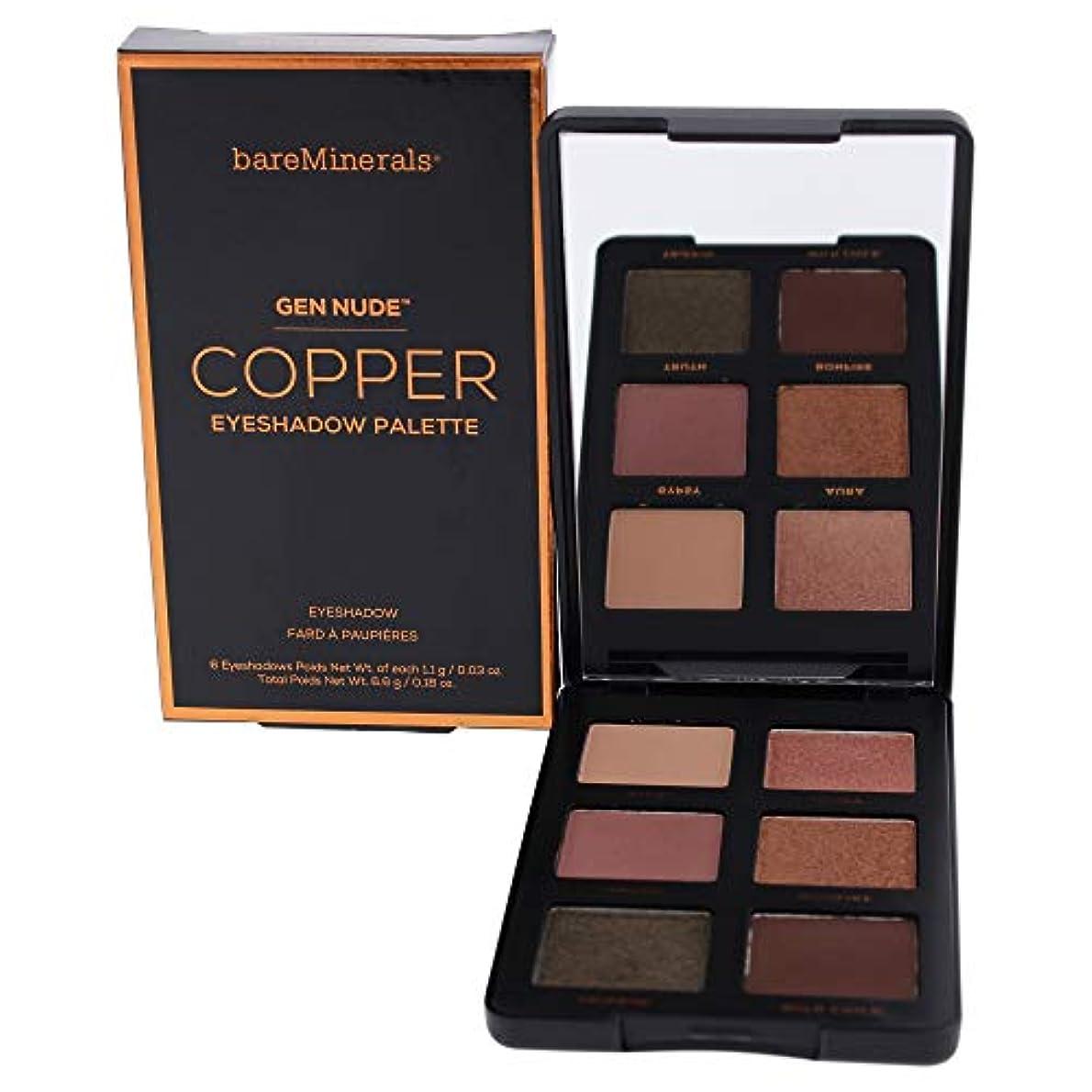 る準拠司法ベアミネラル Gen Nude Eye Shadow Palette - # Copper 6x1.1g/0.03oz並行輸入品