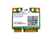 インテル Intel Centrino Advanced-N 6205 Dual Band 2.4GHz/5GHz 802.11a/b/g/n 300Mbps PCIe Mini half 無線LANカード 62205ANHMW