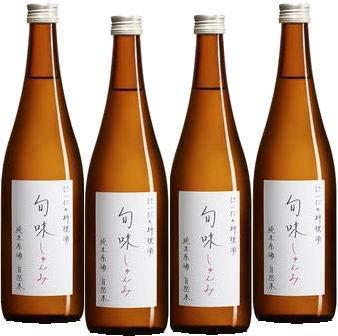 金寶仁井田本家 福島県 料理酒 『旬味』 純米原酒 720ml 4本セット