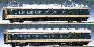 HOゲージ車両 583系特急寝台電車 2両増結 M HO-020