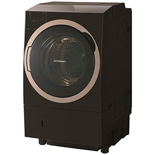 東芝 ドラム式洗濯乾燥機 ZABOON ヒートポンプタイプ 左開き 11kg グレインブラウン TW-117X6L T