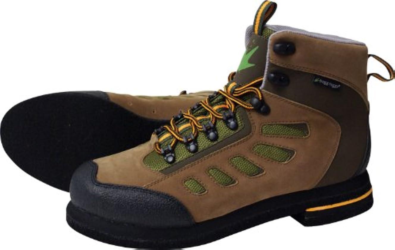換気発疹酒(11W, Brown/Olive) - Frogg Toggs Anura Felt Wading Shoe, 11W, Brown/Olive