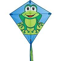 HQ Kites Eddy Funny Frog Diamond Kite