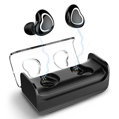 Aminy Bluetooth イヤホン 完全ワイヤレス イヤホン 4.2 左右分離型 片耳 両耳とも対応 高音質 累積使用16...