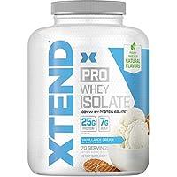 Scivation Xtend Pro Isolate Whey Protein with Bcaa Vanilla Ice Cream 5lb エクステンドプロ アイソレートホエイプロテイン バニラアイスクリーム 2.3KG [海外直送品]