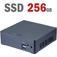【Intel i7-8550U】【メモリ8GB】【SSD 128GB + HDD 1TB】【USBの次世代規格 USB3.1 Type-cポート】【Win 10 Pro 64bit 搭載】SKYNEW ミニパソコン 小型pc M4S