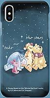 4種類の愛らしくかわいいパステルカラーのヴィンテージスタイルのユニークで魅力的なモダンクラシックの幾何学的DISNEYディズニーアニメーションPOOHフレンズ花柄キャラクター主人公レタリングラブリーアートデザインパターンiPhoneケースとGalaxyケースポリカーボネートハードスマホケース.MK-0-14-61 (iPhone X/XS, 2.STARS) [並行輸入品]