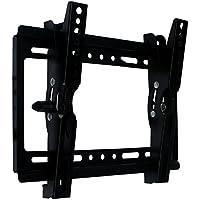 テレビ壁掛け 14-37インチLED LCD コンピュータモニタ 液晶テレビ対応 角度調節可能 VESA対応 最大250*210mm 耐荷重25kg