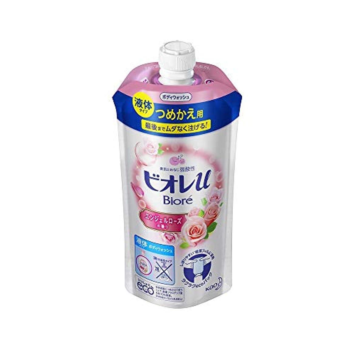 探す札入れ子供時代花王 ビオレu エンジェルローズの香りつめかえ用 340ML