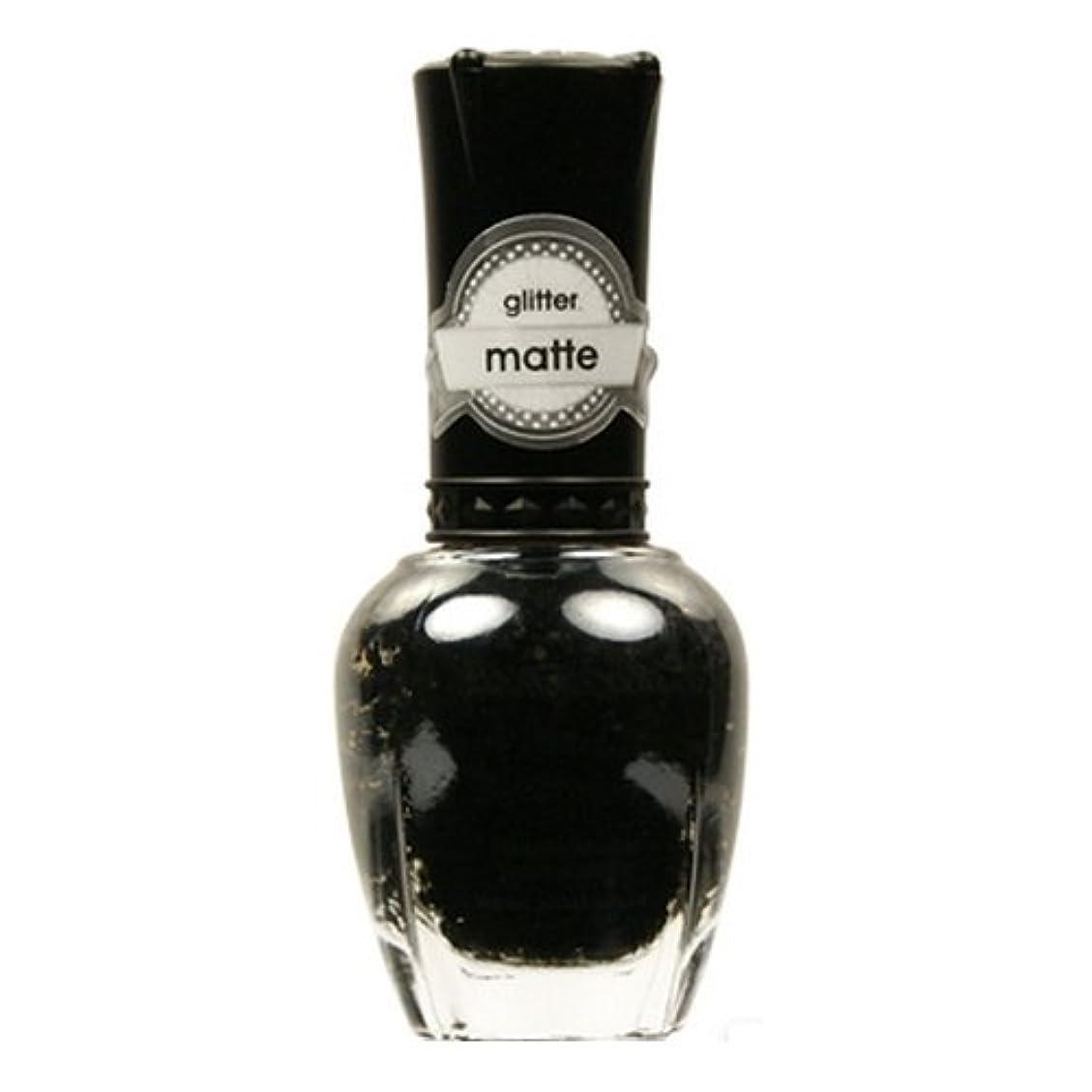 荒廃する散歩読みやすい(6 Pack) KLEANCOLOR Glitter Matte Nail Lacquer - Beyond Time & Space (並行輸入品)