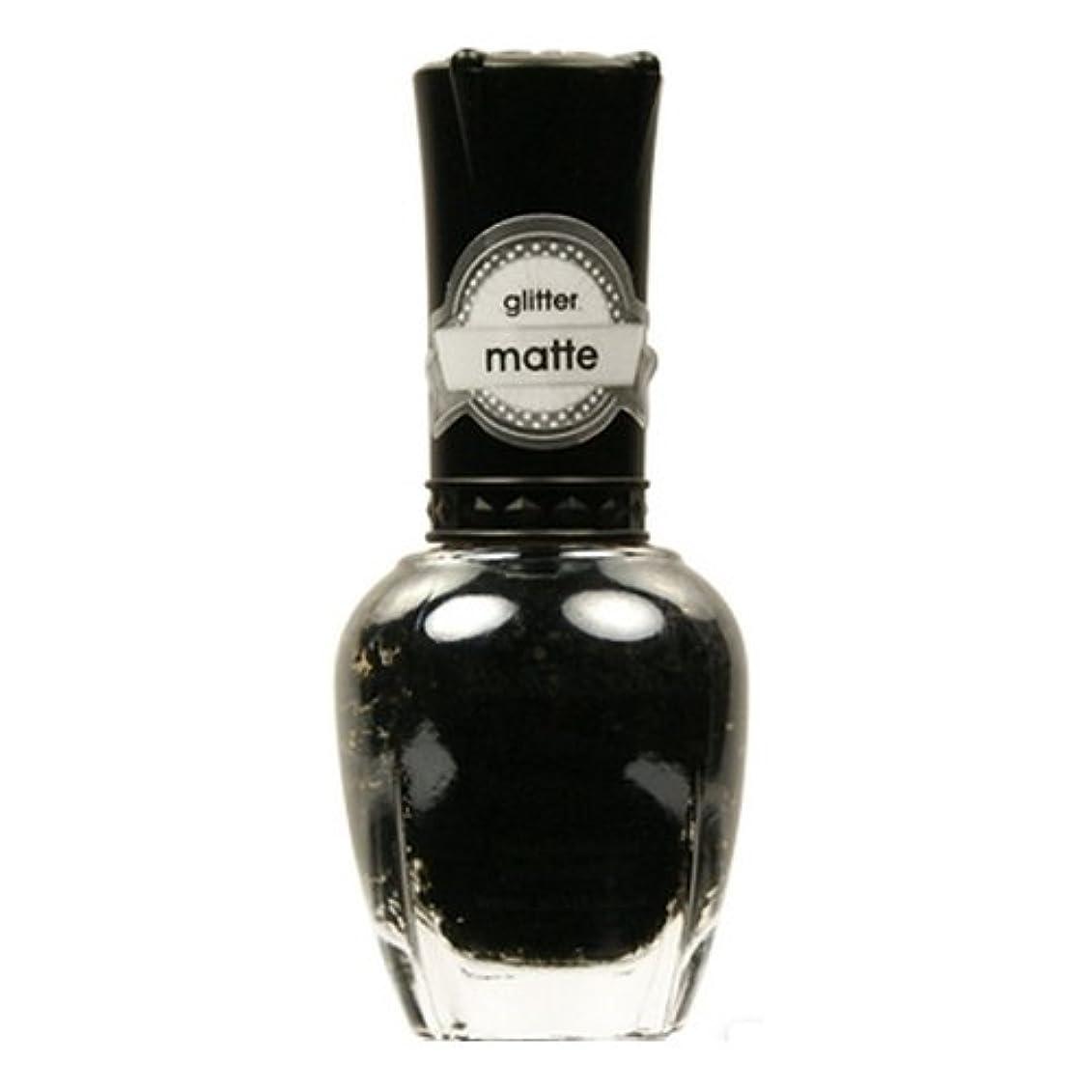 老朽化した注釈を付ける無意識(6 Pack) KLEANCOLOR Glitter Matte Nail Lacquer - Beyond Time & Space (並行輸入品)