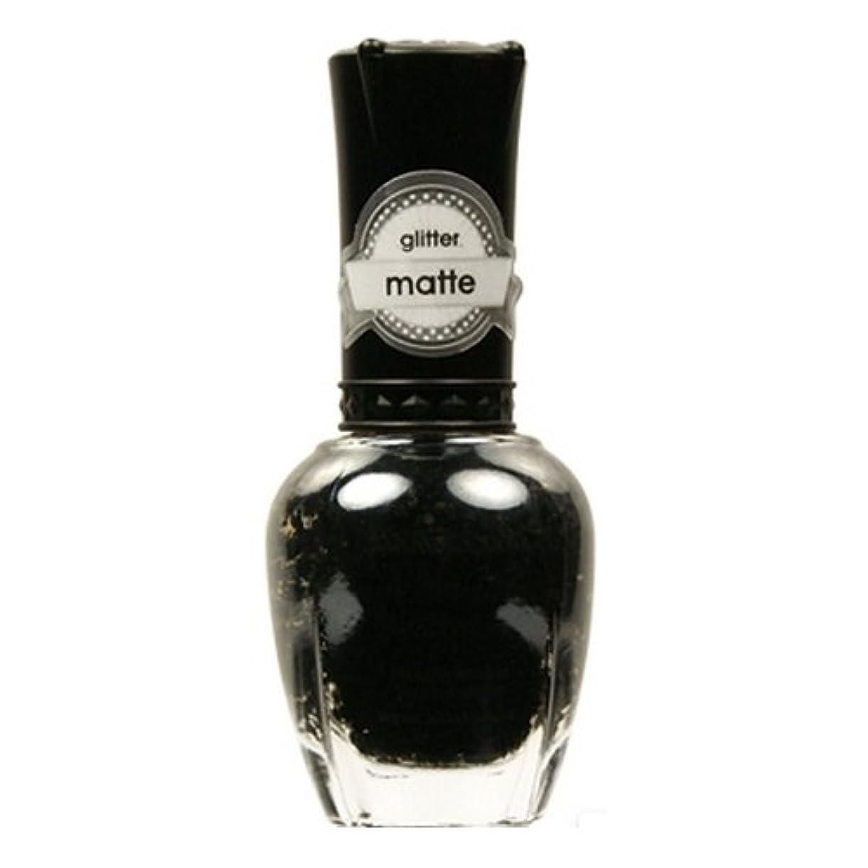 合金人里離れた時々(3 Pack) KLEANCOLOR Glitter Matte Nail Lacquer - Beyond Time & Space (並行輸入品)