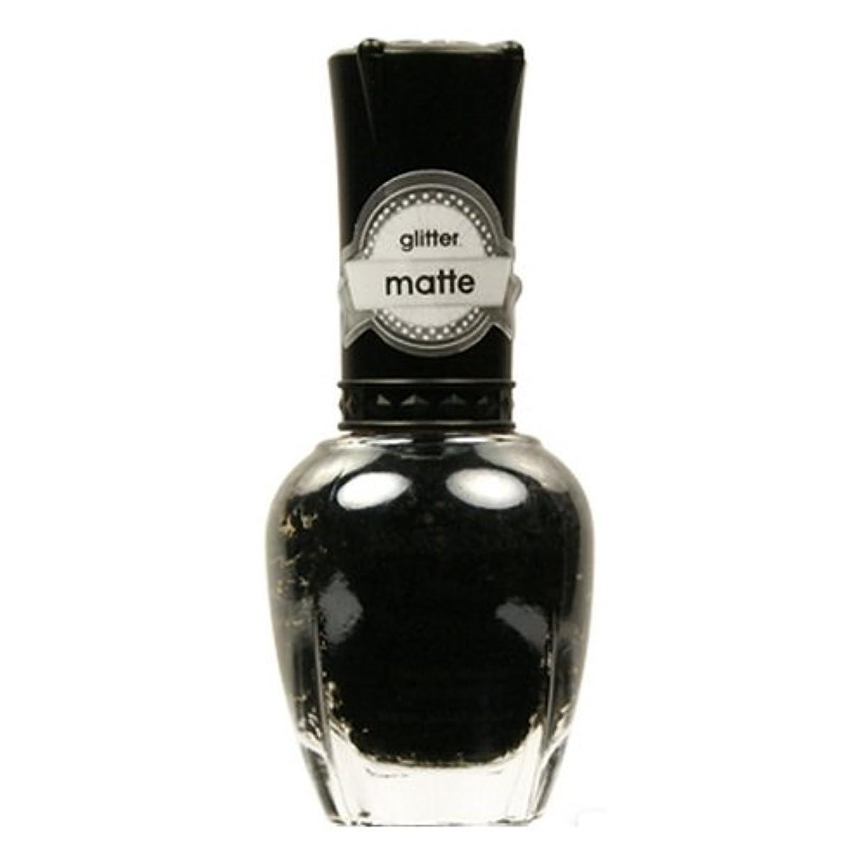 落ち着く製品内陸KLEANCOLOR Glitter Matte Nail Lacquer - Beyond Time & Space (並行輸入品)