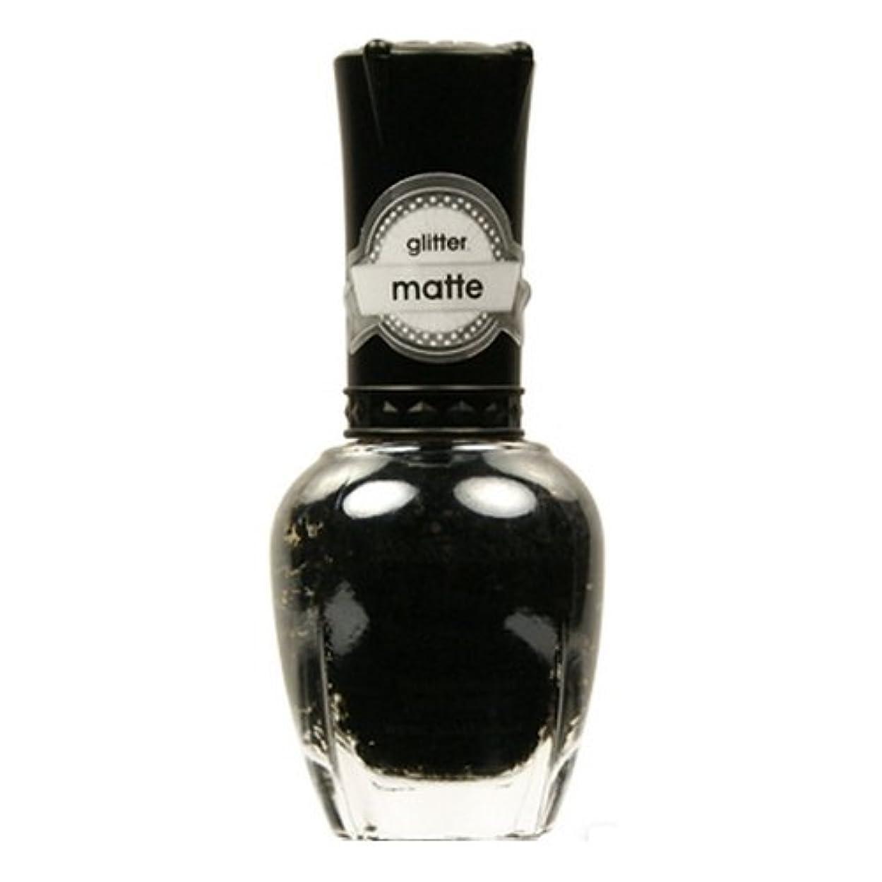 仕事飢えた着替える(3 Pack) KLEANCOLOR Glitter Matte Nail Lacquer - Beyond Time & Space (並行輸入品)