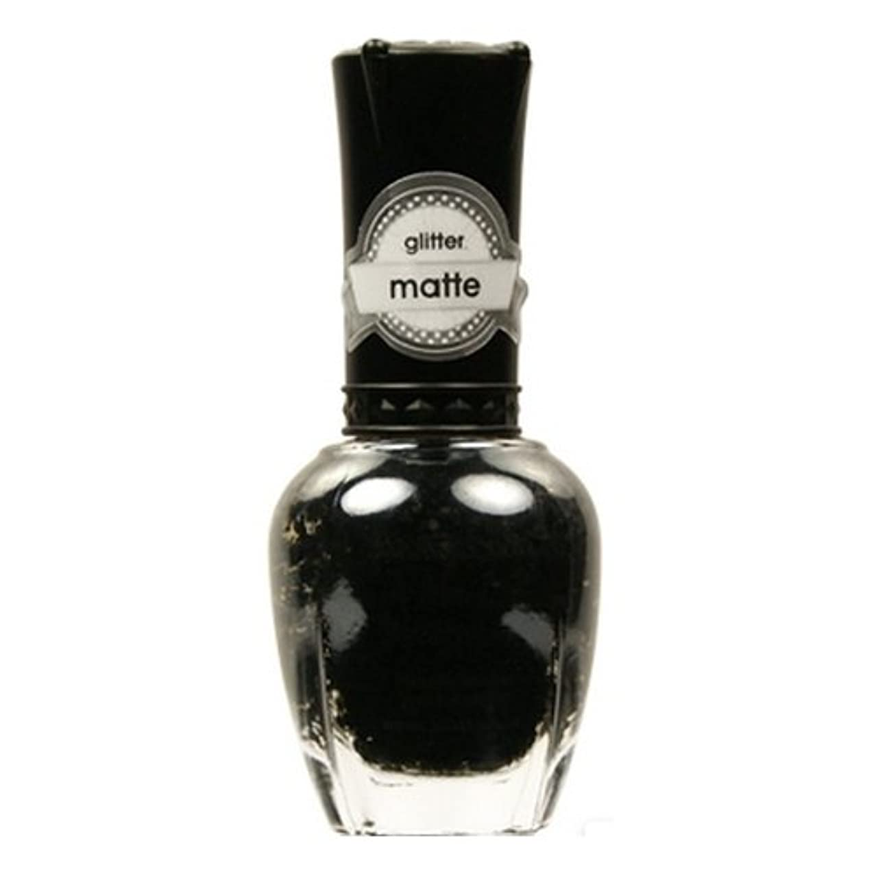 属性導入するKLEANCOLOR Glitter Matte Nail Lacquer - Beyond Time & Space (並行輸入品)