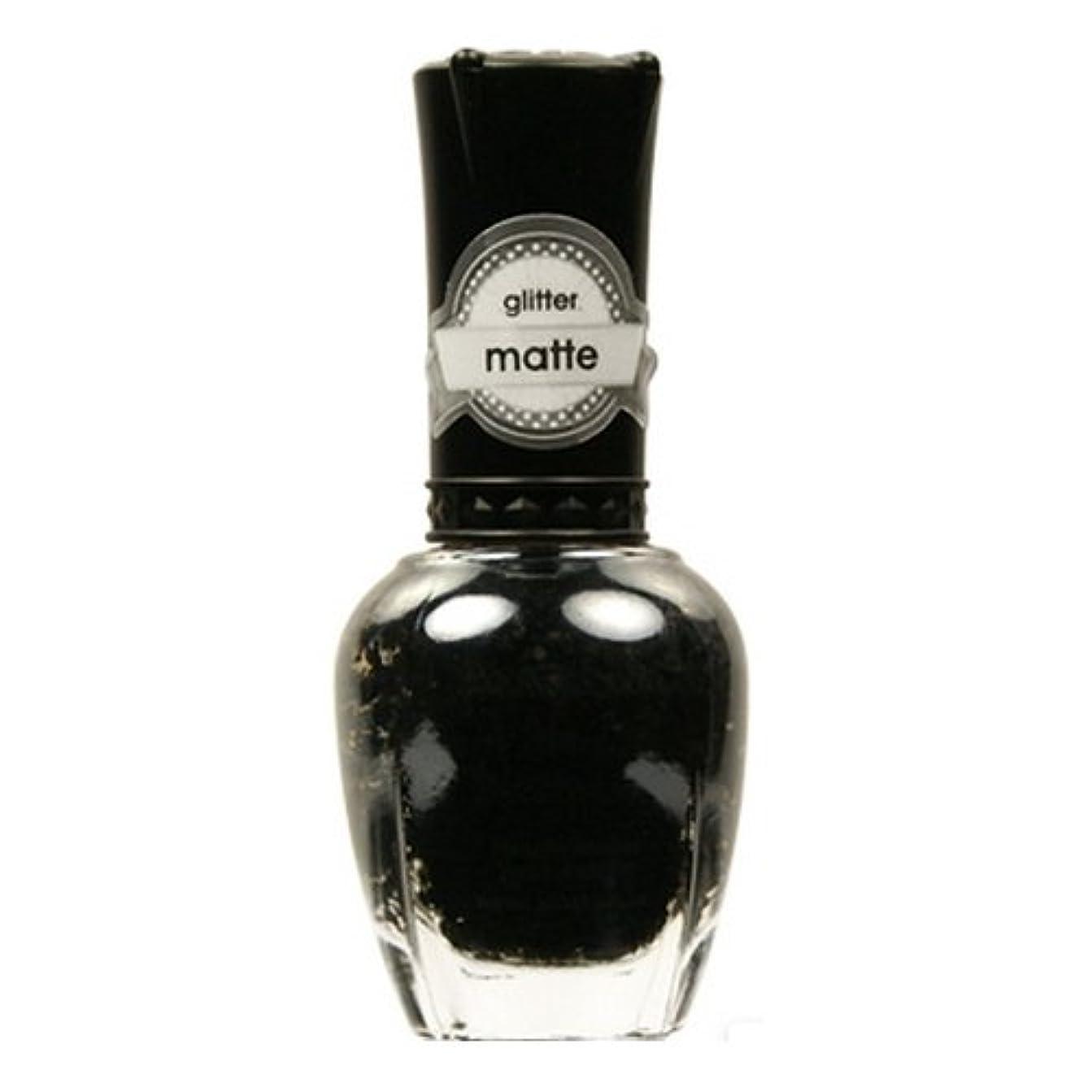 セラー競争自宅で(3 Pack) KLEANCOLOR Glitter Matte Nail Lacquer - Beyond Time & Space (並行輸入品)