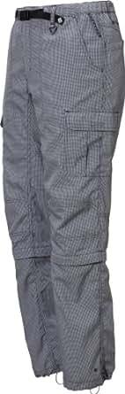 (コロンビア)Columbia Woodbridge Convertible Pant PM8700-S12 001 Varsity Grey Houndtooth XS
