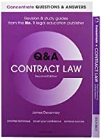 Contract Law Revision & Study Guides / Contract Law  Q & A (Concentrate)