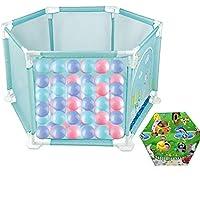ベビープレイペン 赤ちゃんの屋内プレイフェンスを増やす子供の遊び場赤ちゃんの幼児用バー安全クロールバー