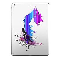 第1世代 iPad Pro 9.7 inch インチ 共通 スキンシール apple アップル アイパッド プロ A1673 A1674 A1675 タブレット tablet シール ステッカー ケース 保護シール 背面 人気 単品 おしゃれ クール レインボー 人物 007234
