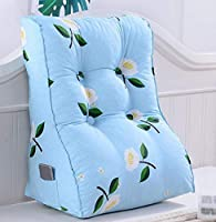 クッション、枕クッションベッドサイドソファー枕オフィスランチウエストクッション枕ウエストクッション洗える、汚れた(色:#7、サイズ:60x55cm)
