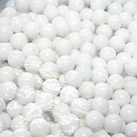ビー玉 ホワイトマーブル 10mm 約600粒入