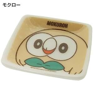 ポケットモンスター[ミニプレート]プチ角小皿/サン&ムーン ポケモン【モクロー 】