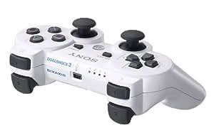ワイヤレスコントローラ (DUALSHOCK3) セラミック・ホワイト
