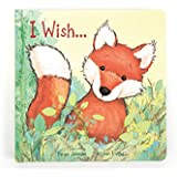 Jellycat Board Book, I Wish..., 22cm x 22cm