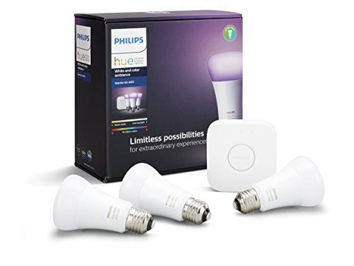 Philips Hue(ヒュー) スターターセット v3 929001367901【Works with Alexa認定製品】