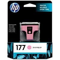 (まとめ) HP177 インクカートリッジ ライトマゼンタ C8775HJ 1個 【×3セット】 〈簡易梱包