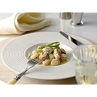 乳白 リベラ 27cm ディープ皿