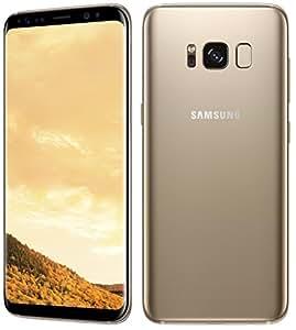 "Samsung Galaxy S8+ Dual SIM 版 (FACTORY UNLOCKED) 6.2"" 64GB Gold SIMフリー 並行輸入品 日本未販売"