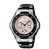 腕時計 カシオ Casio Women's MSG300C-1B Baby-G G-MS Cool and Tough Ana-Digi Watch [並行輸入品]