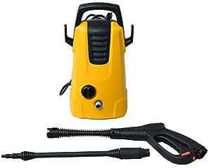 スマイル(SMILE) 高圧洗浄機 【1年保証】ハンドル付き コンパクト 軽量 強力噴射 電源コード5m SE0002